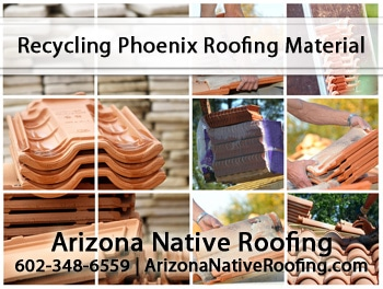 How To Recycle Your Phoenix Roof Repair Shingles