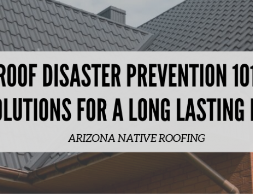 Roof Disaster Prevention 101: 5 Solutions for a Long Lasting Roof