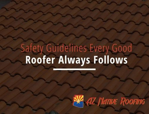Safety Guidelines Every Good Roofer Always Follows