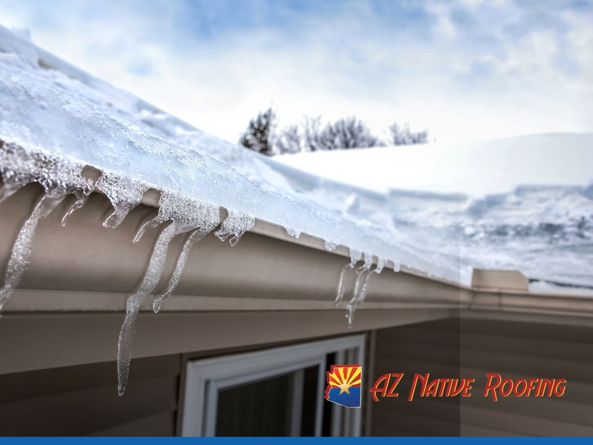 How To Prevent Roof Damage During The Winter Season in Arizona